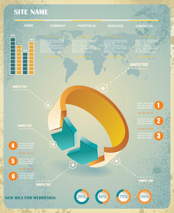 infographics set and Information Graphics vectorのイラスト素材 [FYI03068444]