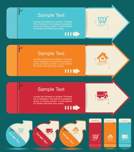 Vintage Labels template set. Sale, discount theme. Retro logo template design.のイラスト素材 [FYI03068614]