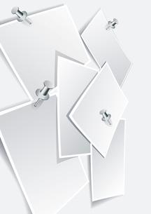 Vector instant photo frames set . photo frameのイラスト素材 [FYI03068616]