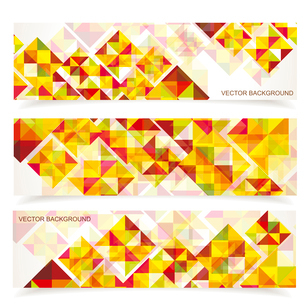 Vector colorful mosaic pattern design. Abstract, geometric backgrounds.のイラスト素材 [FYI03068901]