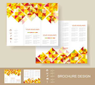Print, Poster Design Template. Book cover. Background design. Graphics/Lay out. Content page.のイラスト素材 [FYI03068903]