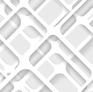 Seamless Geometric Pattern. Monochrome cellular texture. Repeating abstract backgroundのイラスト素材 [FYI03069143]