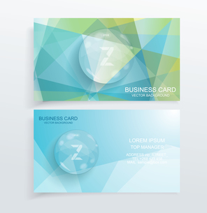 Vector abstract creative business cardsのイラスト素材 [FYI03069177]