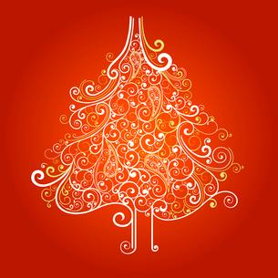 Christmas treeのイラスト素材 [FYI03070819]