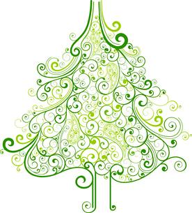 Christmas treeのイラスト素材 [FYI03071168]