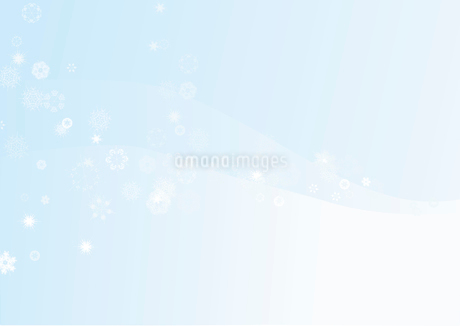 Beautifull Winter  snowflake backgroundのイラスト素材 [FYI03071233]
