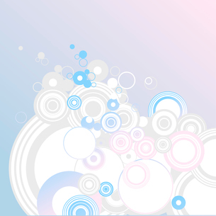 Circle background    .                 Illustration of background useful for many applications. . Veのイラスト素材 [FYI03071249]