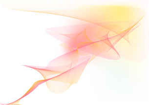 Vector illustration - abstract background made of color splashes and curved linesのイラスト素材 [FYI03071275]