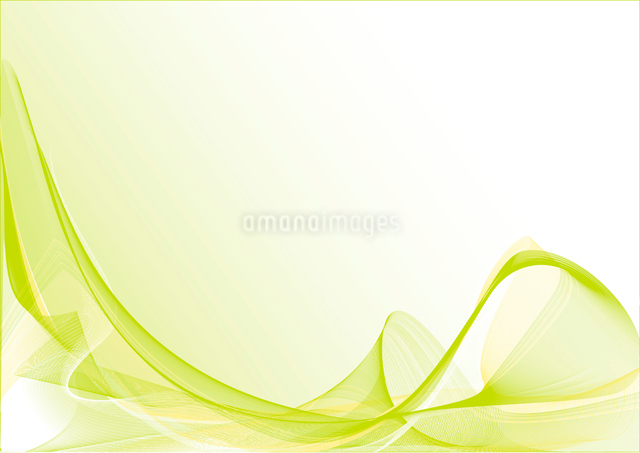 Vector illustration - abstract background made of color splashes and curved linesのイラスト素材 [FYI03071283]