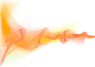 Vector illustration - abstract background made of color splashes and curved linesのイラスト素材 [FYI03071285]