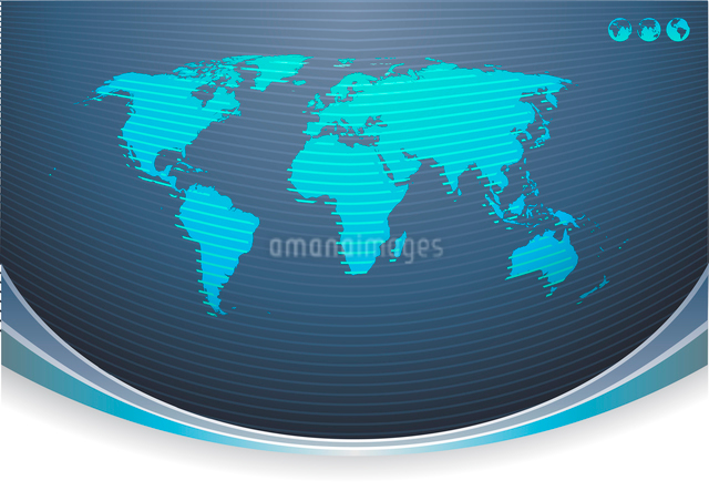 Vector illustration of Global Communication Backgroundのイラスト素材 [FYI03071561]
