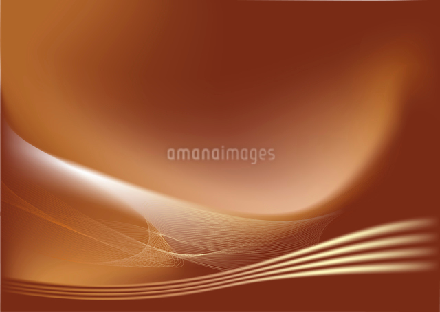 abstract lines background: composition of curved lines-great for backgrounds, or layering over otherのイラスト素材 [FYI03071593]