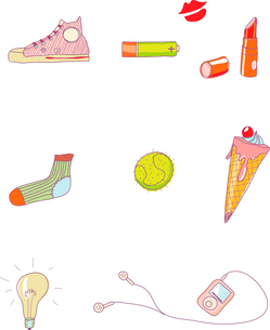 Vector illustration - set of urban Design Elementsのイラスト素材 [FYI03071619]