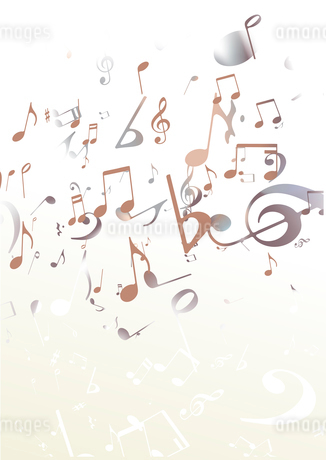 Vector illustration of retro style music Abstract backgroundのイラスト素材 [FYI03071830]
