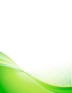 Vector Illustration of green abstract techno background made of dots and curved lines. Great for bacのイラスト素材 [FYI03071925]
