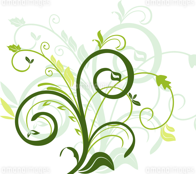 Floral decorative background for holiday s card. Vectorのイラスト素材 [FYI03071994]