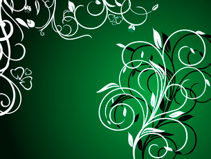 Floral decorative background for holiday card. Vectorのイラスト素材 [FYI03072020]