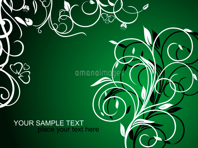 Floral decorative background for holiday card. Vectorのイラスト素材 [FYI03072026]