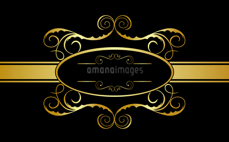 Illustration of floral banner for design. Vectorのイラスト素材 [FYI03072063]
