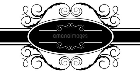 Illustration of floral banner for design. Vectorのイラスト素材 [FYI03072097]