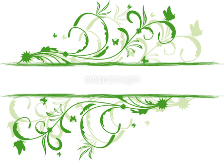 Floral decorative background for holiday card. Vectorのイラスト素材 [FYI03072120]