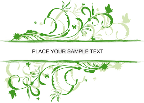 Floral decorative background for holiday card. Vectorのイラスト素材 [FYI03072124]