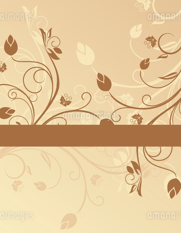 Floral background for design card - vectorのイラスト素材 [FYI03072149]