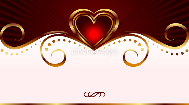 Illustration romantic card for valentine's day - vectorのイラスト素材 [FYI03072332]