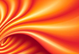 Vector illustration of orange funky futuristic background imitating smooth silk clothのイラスト素材 [FYI03072523]