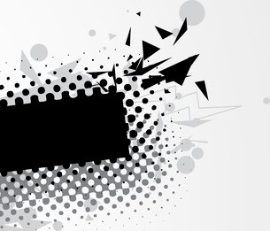 Vector illustration of abstract styled Decorative urban backgroundのイラスト素材 [FYI03072647]
