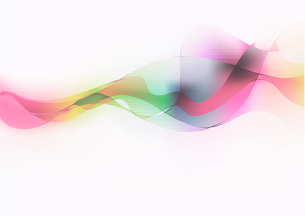 Vector illustration of abstract background with color blurred magic neon light curved linesのイラスト素材 [FYI03072687]