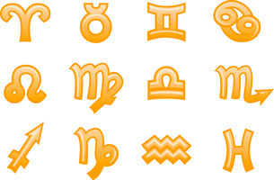 Vector illustration of zodiac signs.You can use it for your website, application or presentationのイラスト素材 [FYI03072842]
