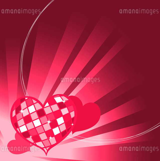 Vector illustration of Valentine's Day background, decorated with beautifull hearts.のイラスト素材 [FYI03072900]