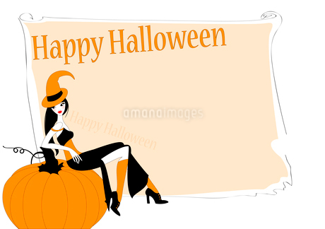 Vector Illustration of funky invitation to halloween partyのイラスト素材 [FYI03073020]