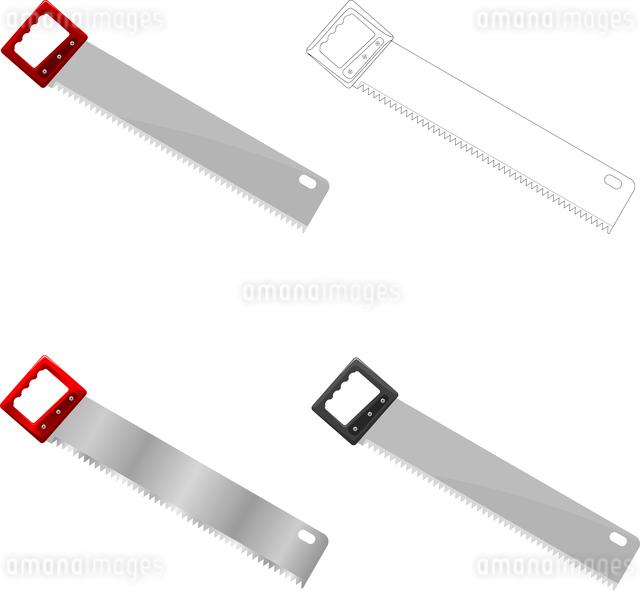 Vector illustration of sawのイラスト素材 [FYI03073211]