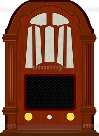 Vector artwork an old radioのイラスト素材 [FYI03073214]