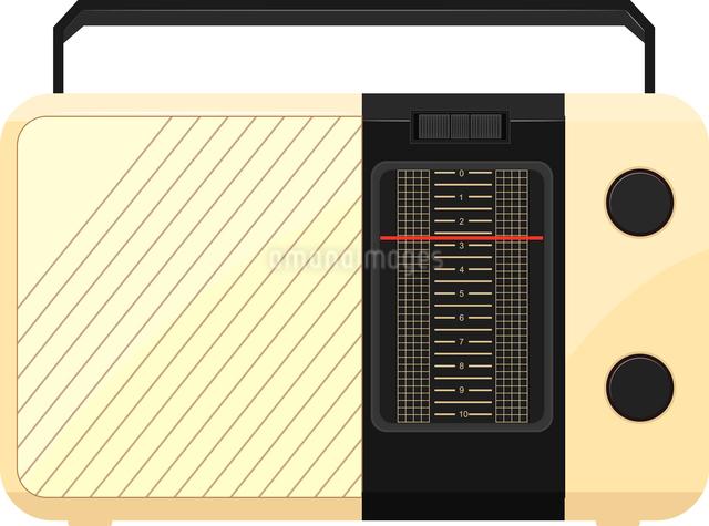 Vector illustration of a portable radioのイラスト素材 [FYI03073217]