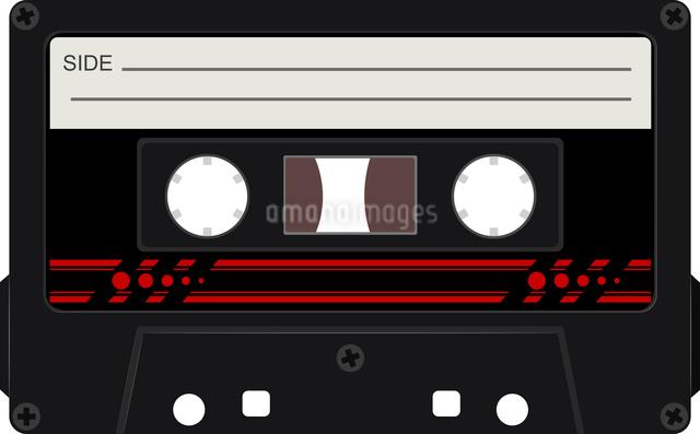 Vector illustration of audio cassettesのイラスト素材 [FYI03073224]
