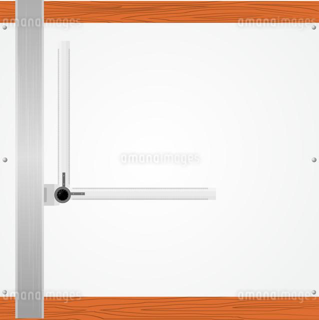 Vector Illustration Drawing Tableのイラスト素材 [FYI03073237]