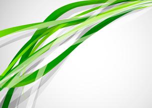 Green linesのイラスト素材 [FYI03073376]
