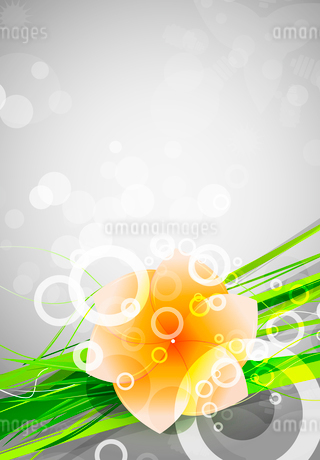 Abstract beautiful flower backgroundのイラスト素材 [FYI03073462]
