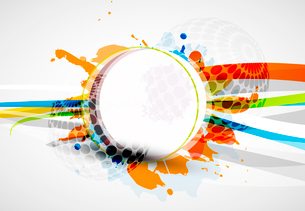 Vector abstract colorful backgroundのイラスト素材 [FYI03073466]