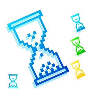 Color wait cursorのイラスト素材 [FYI03073772]