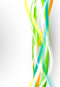 Vector color lines. Abstract vector backgroundのイラスト素材 [FYI03074118]