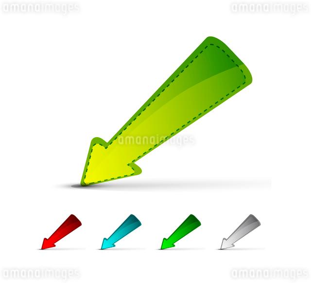 Vector arrow pointerのイラスト素材 [FYI03074181]
