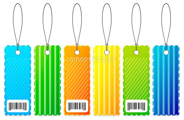 Vector labelsのイラスト素材 [FYI03074265]
