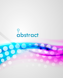 Abstract blur wave vector backgroundのイラスト素材 [FYI03074316]