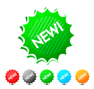 New labels setのイラスト素材 [FYI03074383]