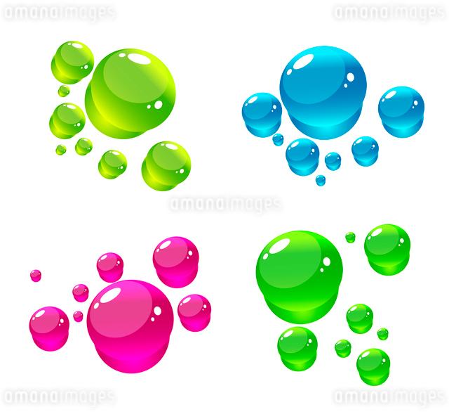 Water dropsのイラスト素材 [FYI03074533]