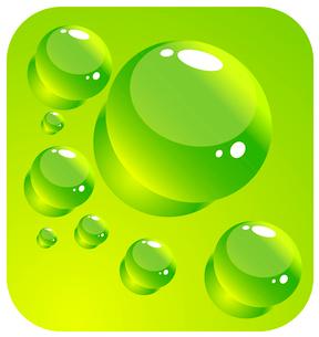 Water dropsのイラスト素材 [FYI03074534]